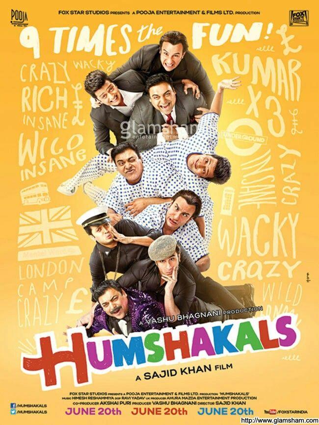 "#BBXclusivePoster Checkout Exclusive Poster of Saif Ali Kha, Reitesh Deshmukh & Ram Kapoor Starrer ""Humshakals""."