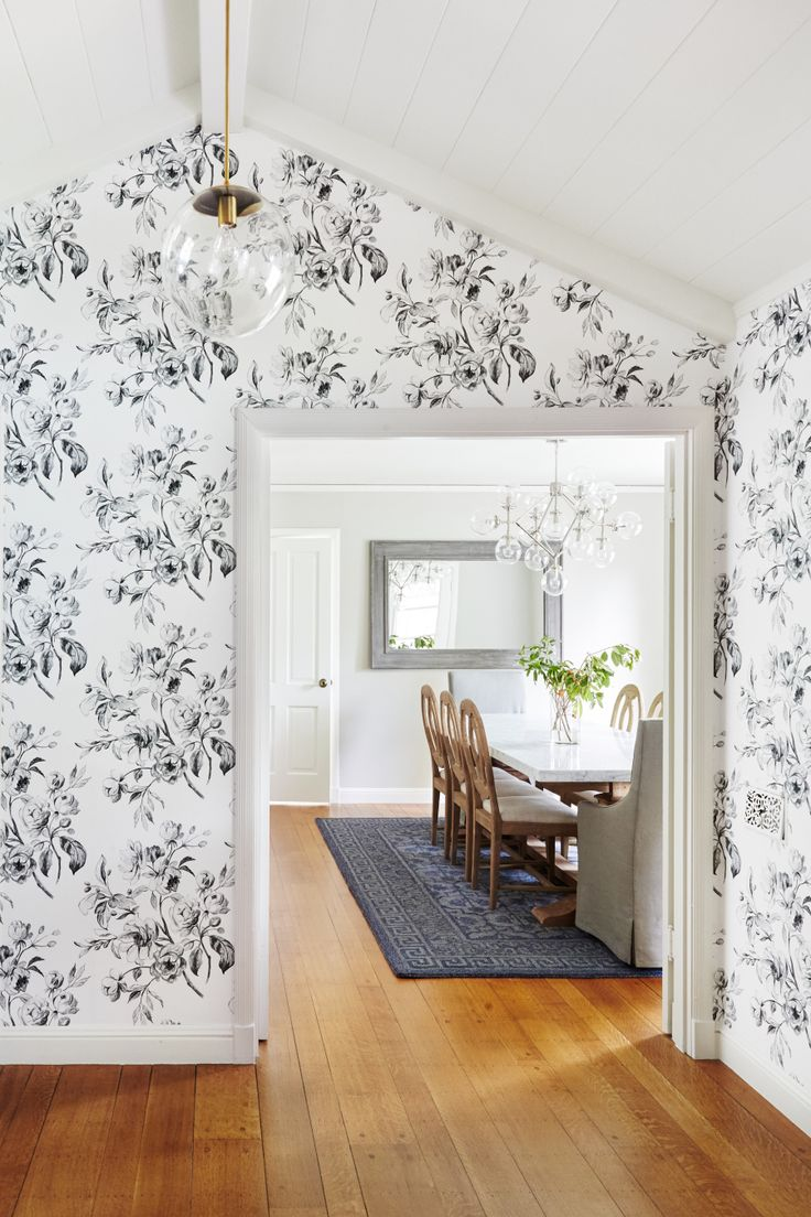 Wall Colour Inspiration: Best 25+ Dining Room Wallpaper Ideas On Pinterest