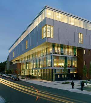 Beautiful Jeremiah E. Burke High School, Boston, MA; Designed By Schwartz/Silver Photo