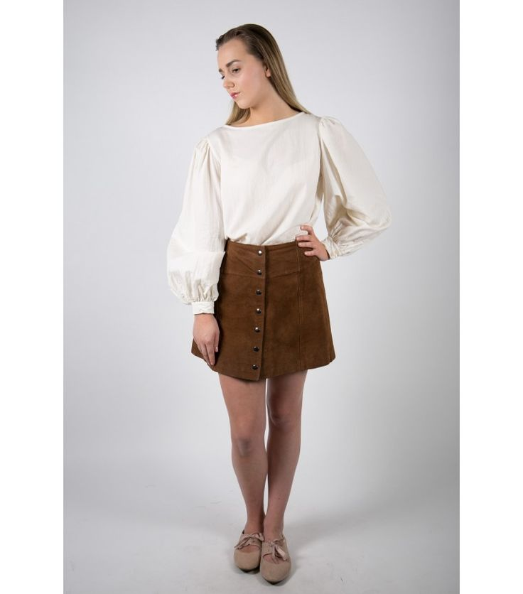 Soft Riot Suede Mini Skirt (Sold Out) - WST