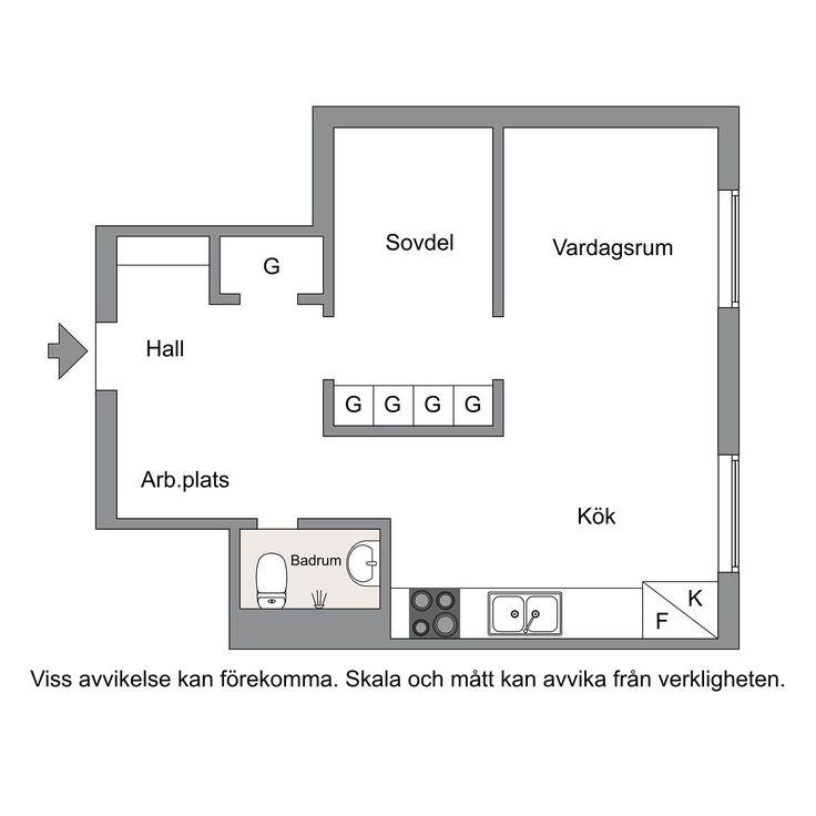 200 best Studiosappartements images on Pinterest Creative - faire un plan d appartement en ligne