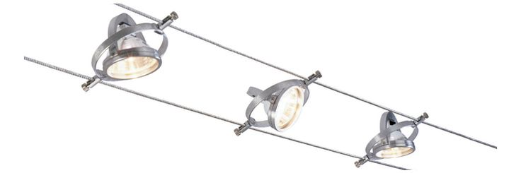 Example 14: double wire track lighting. Sweet!