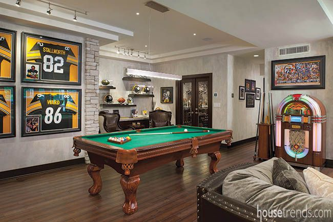 Basement Remodel A Social Butterfly Game Room Design