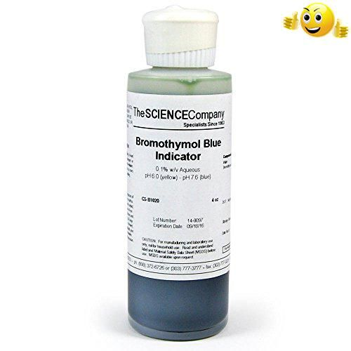 #greatdeal This 0.1% aqueous bromothymol blue solution (also known as Bromthymol #Blue) is a commonly used pH indicator. Bromothymol blue changes color over a pH...
