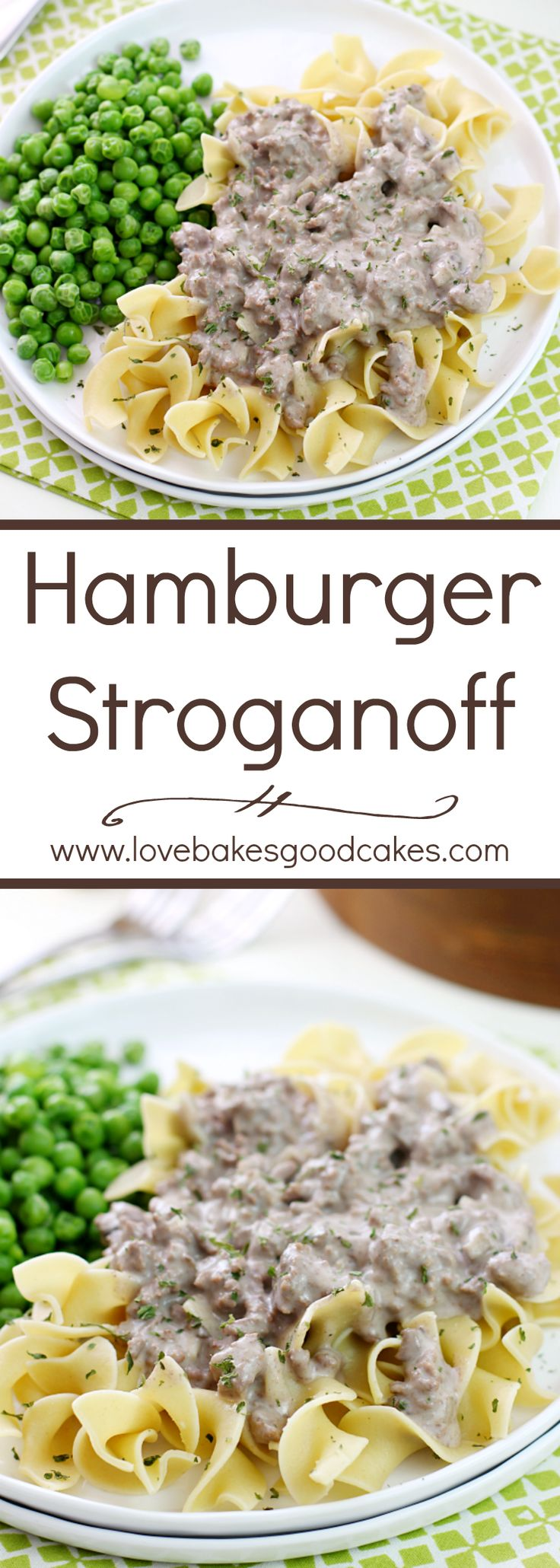 This Hamburger Stroganoff is easy on the budget and it makes the perfect weeknight meal!