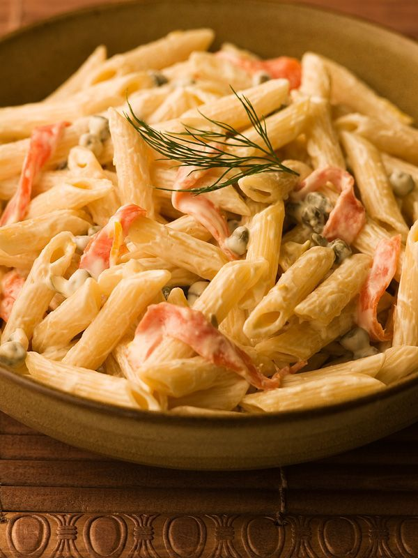 Penne with Smoked Salmon & Cream Cheese Sauce - Chef Michael Smith
