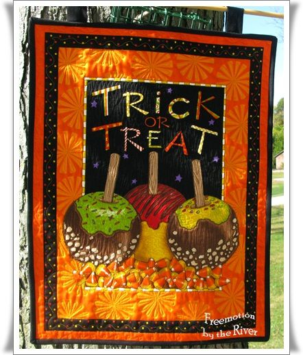 quilted halloween placemats patterns