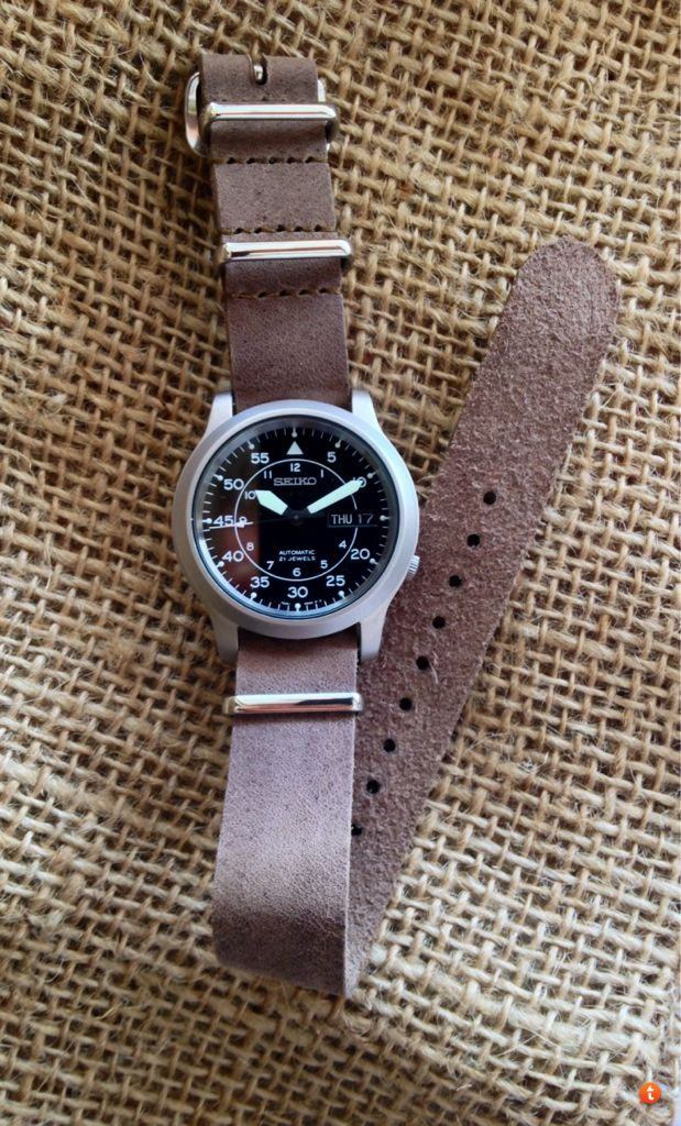 Seiko 5 SNK owners: Show me your NATO or leather bands! - Page 4