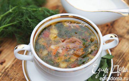 Баклажановый суп | Кулинарные рецепты от «Едим дома!»