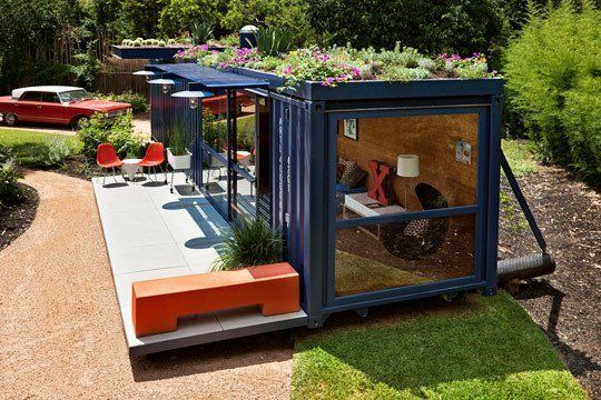 Small Space Ideas from a Modular Guest House