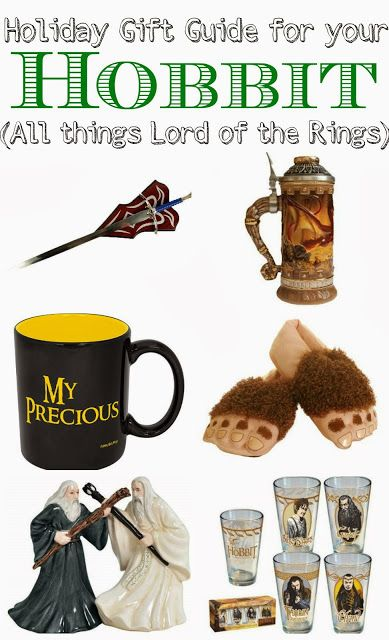 Gift Guide for your Hobbit, the ultimate gift guide for the guy who loves Lord of the Rings and The Hobbit!