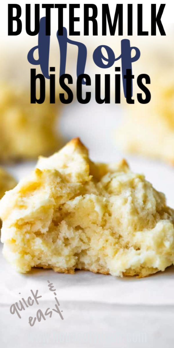 Buttermilk Drop Biscuits Recipe In 2020 Drop Biscuits Biscuit Recipe Easy Drop Biscuits