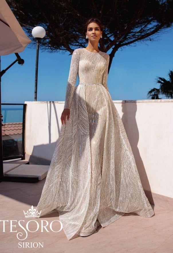 ed1d4cef48 Tesoro 2019 'Sicilian Fairytale Story' Wedding Dresses Collection Menyasszonyi  Ruhák, Menyasszonyi Ruha,