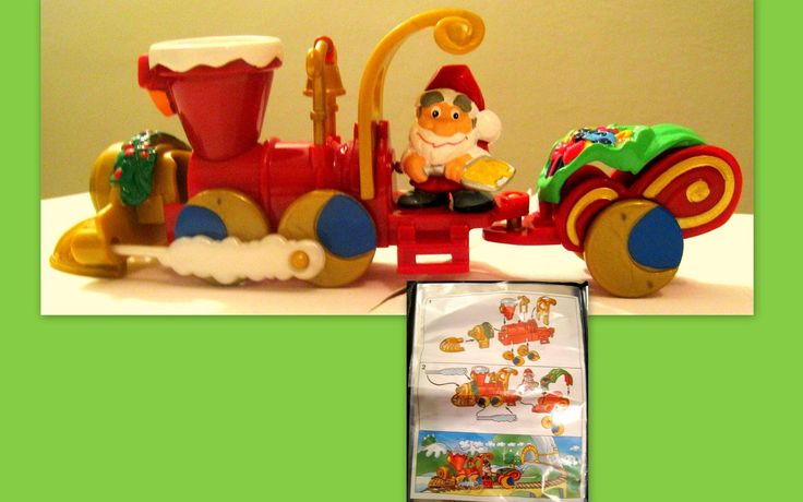 Kinder Maxi NATALE 2002 Treno Di Babbo NATALE | eBay