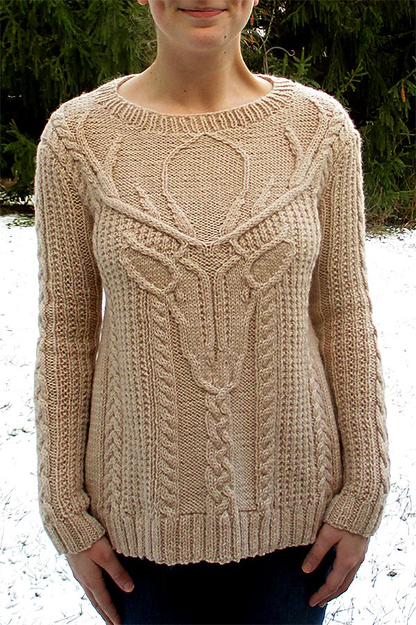 Knitting Pattern For Stag Head Pullover Norah Gaughan S Sweater