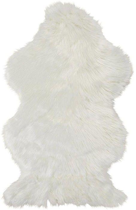 Wellington Faux Fur Rug - White | Kmart