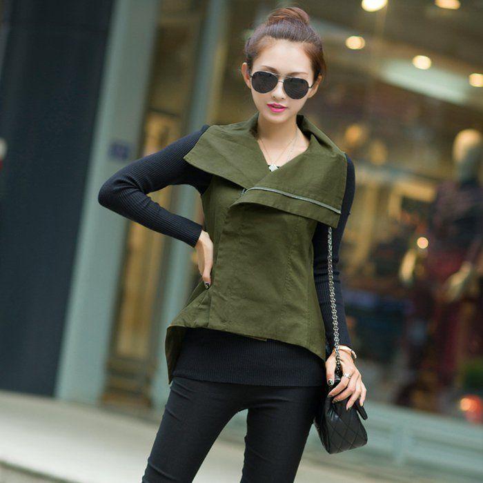 17 meilleures id es propos de veste militaire femme sur - Quelle couleur avec le orange vetement ...