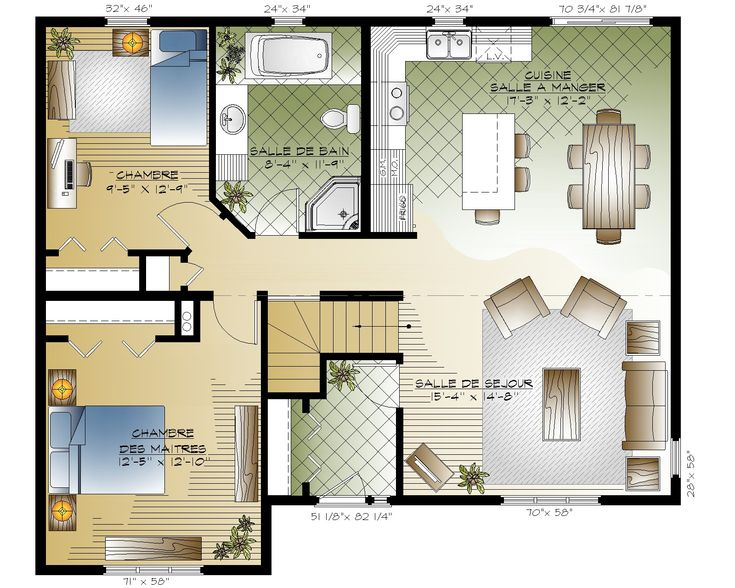 Pin by Keva Wilson on simple  house  plans Simple  house