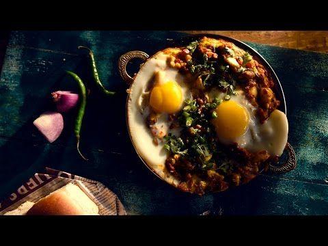 Anda Ghotala Recipe   How to Make Anda (Egg) Ghotala Street Style - YouTube