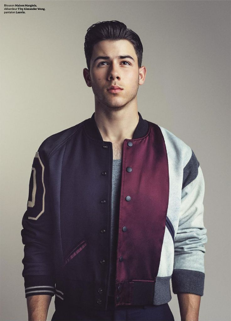 Nick Jonas by Arthur Delloye for Têtu