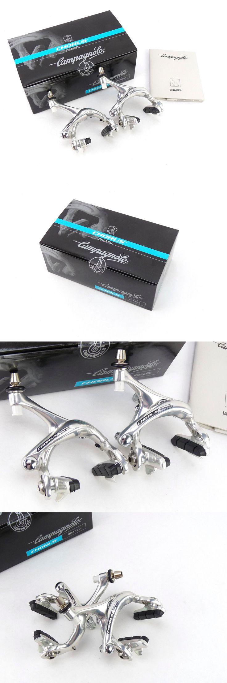 Vintage Bicycle Parts 56197: Campagnolo Chorus 10 Speed Brakeset Dual Pivot Brakes Record Set 2006 Nos -> BUY IT NOW ONLY: $143.2 on eBay!