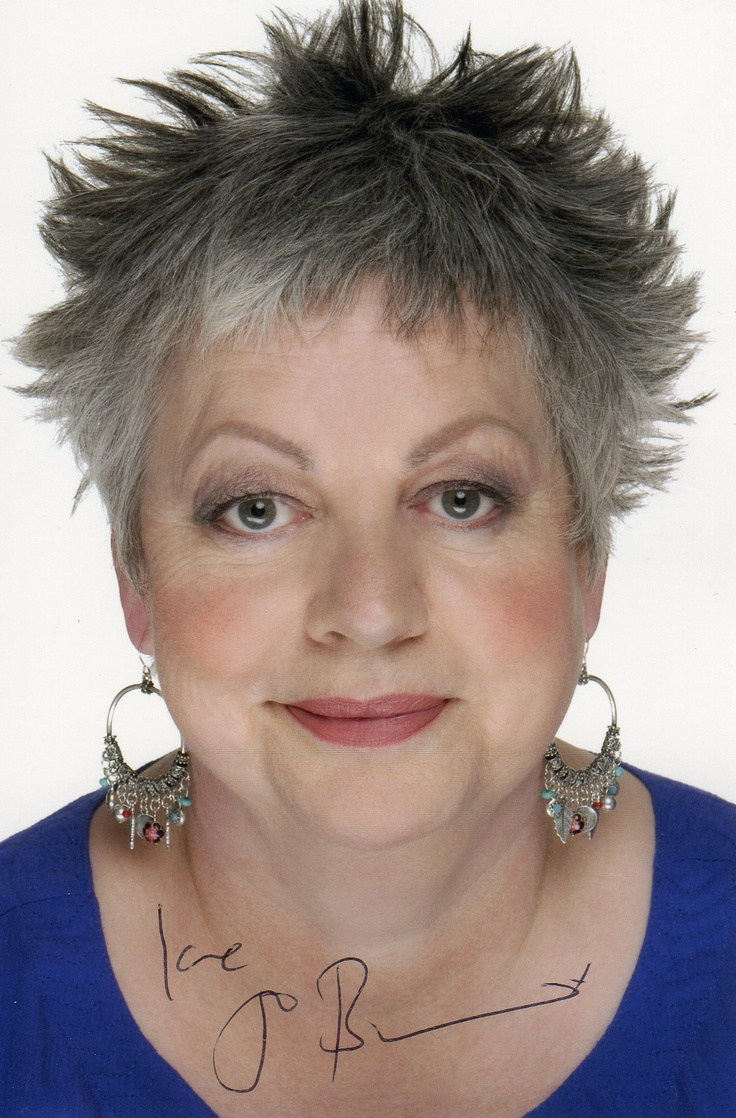 Jo Brand - but please don't mention your weight! real people see past that!