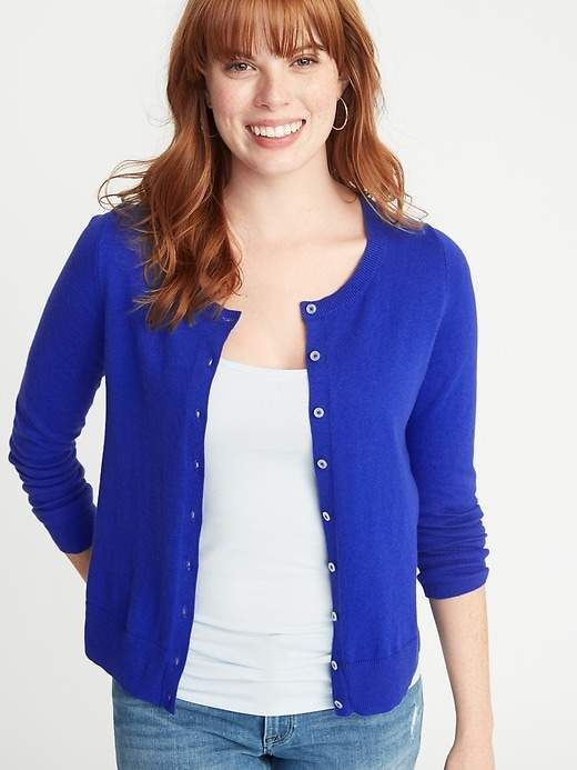 aa5cbda1499 Semi-Fitted Button-Front Cardi For Women in 2019 | Products ...