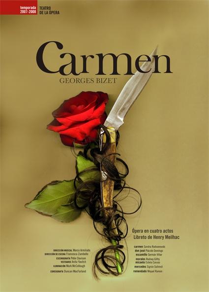 Opera Poster - Carmen.