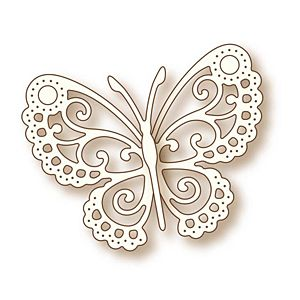 "Wild Rose Studio Specialty Die 2.5""X3.25"" Butterfly Lace"