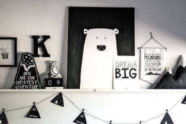 Mayalief: Proudly South African Scandi-style you'll love. Monochrome decor. Baby and toddler.