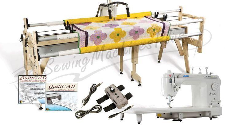 Juki TL2000Qi Long-Arm Machine, Gracie Queen Frame & QuiltCAD Software #Juki