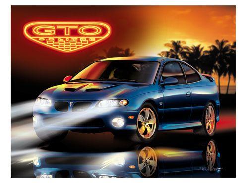 www.AmericanAutoArt.com Pontiac 2004, 2005 & 2006 GTO Artwork ...