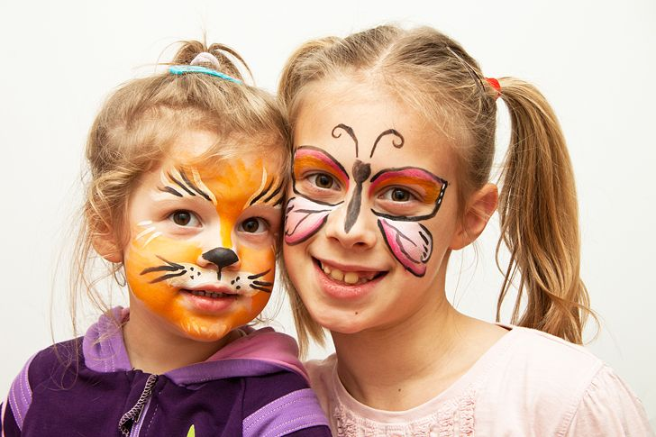 Idee fai da te :: Il trucco per Carnevale per i bambini tutorial make up for kids cat tiger butterfly
