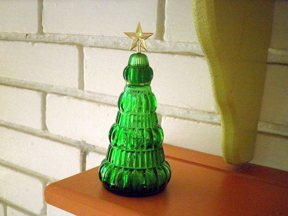 Avon Christmas Tree Perfume Decanter