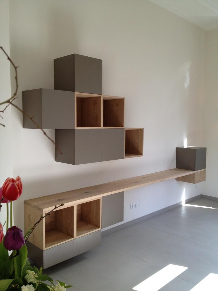 25 best wandkast woonkamer images on pinterest home for Flurschrank ikea