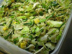 ツナとキャベツのサラダ
