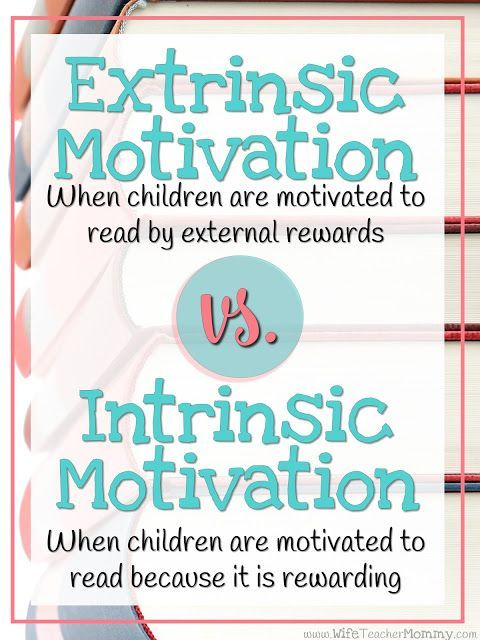extrinsic motivation in the teaching of Academic intrinsic motivation is a factor that is essential for college  extrinsic motivation refers to motives that are outside of and separate from the behaviors.