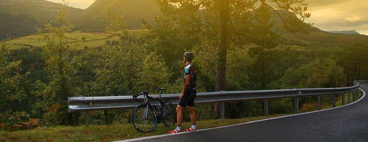 Con Bizkairoute podras disfrutar de la bicicleta y de los paisajes mas espectaculares de Bizkaia.