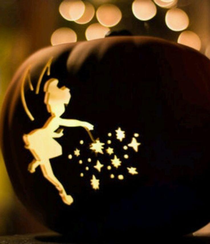 Tinkerbell Halloween Pumpkin