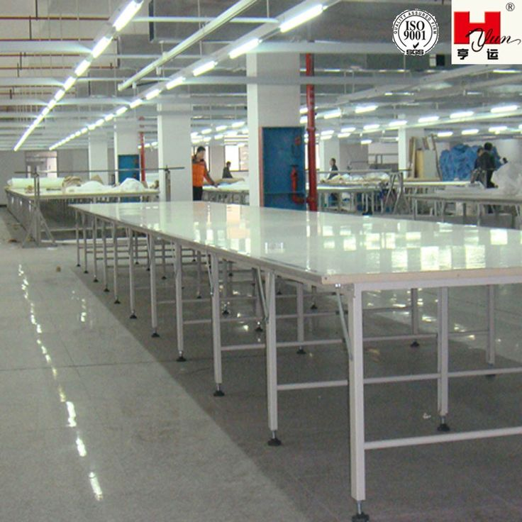 Industrial Fabric Cutting Table and Spreading Table