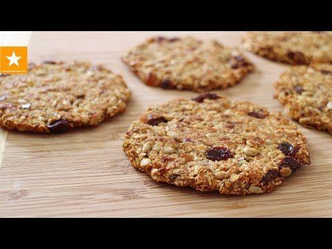 Овсяное печенье от Мармеладной Лисицы. Печенье без сахара, без муки, без яиц - YouTube