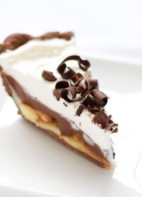 Chocolate banana cream pie. What could be wrong with that? Love and Olive Oil has all kinds of ridiculously good stuff.