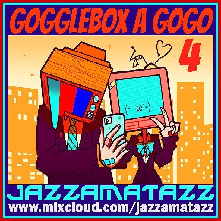 #thisweek Jazzamatazz #tv #soundtrack #dj #mix #mixcloud #radio #tuneinradio #classics #oldies #funk #soul #jazz #jazzamatazz #eclectic #bombshellradio #today  Volume 4 in the Gogglebox A GoGo mixes full of easy listening fun classic TV & Movie music. 28 tracks of some beautiful some thrilling & some wacky movie soundtrack & T.V theme tunes ;) Enjoy :). Jazzamatazz (Scotland) Monday's Wednesday's and Sunday's  2:00 PM - 3:00PM EST  11:00PM - 12:00AM EST bombshellradio.com