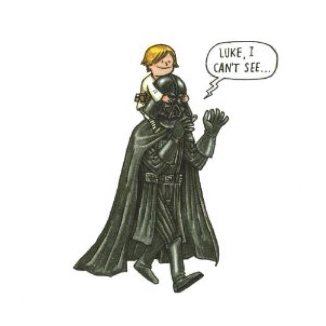 If Darth Vader raised Luke Skywalker