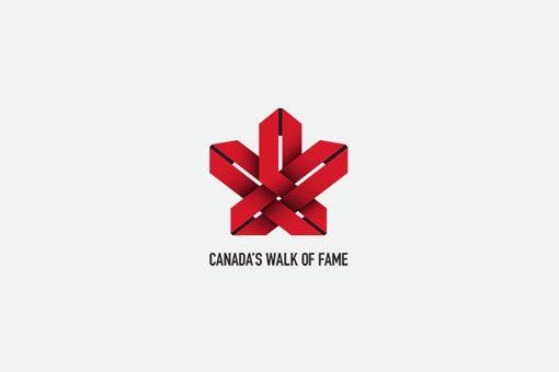 Canada's Walk of Fame logo by David Taylor #logo