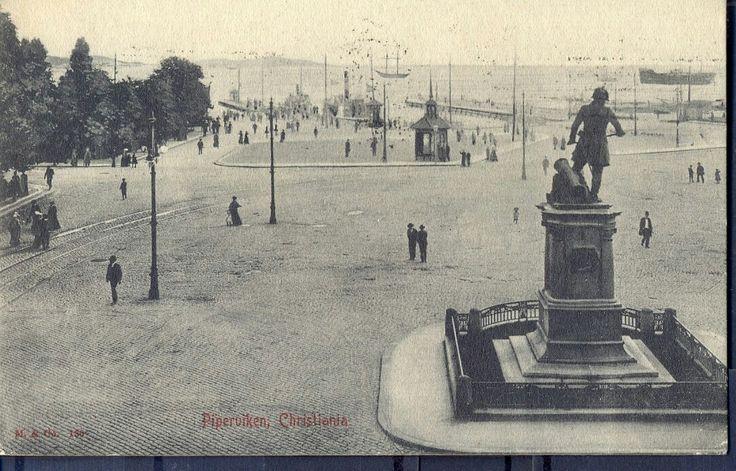 Piperviken, Christiania- brukt -1905 utg Mittet