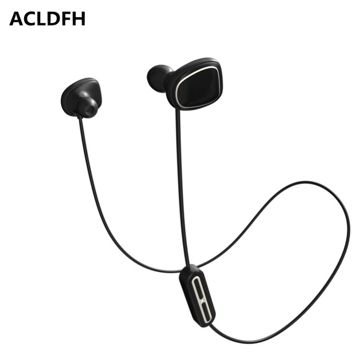 ACLDFH Wireless Bluetooth Earphone Noise Cancelling Headphones Sport Running Earbuds Headset with Mic 5 EQ Bass Stereo Up 8h