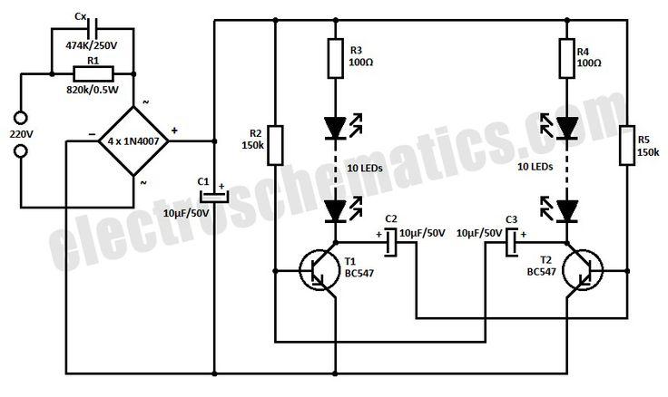led blinker circuit