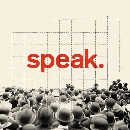 speak. #vintage #illustration