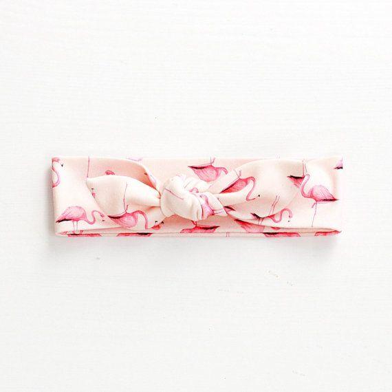 Flamingo head band Rocky Racoon Etsy
